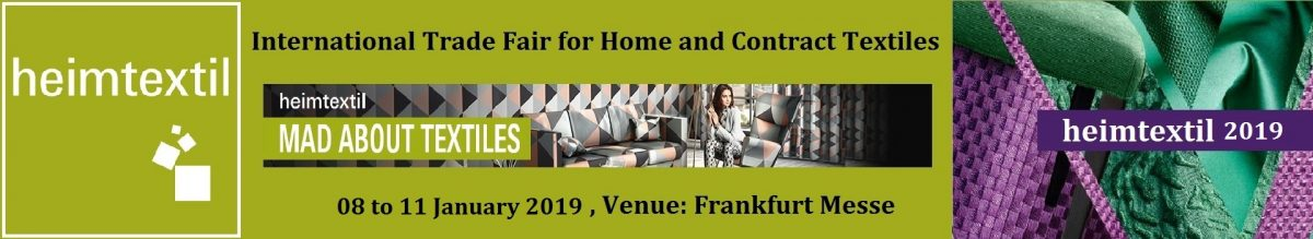 ¡Heimtextil Frankfurt 2019 is coming!